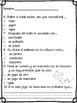 Spanish Comprehensive Test: Si le das una rosquilla a un perro