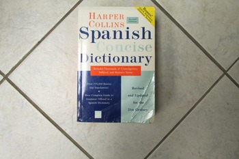 Spanish Concise Dictionary by Harper Collins, Second Edition
