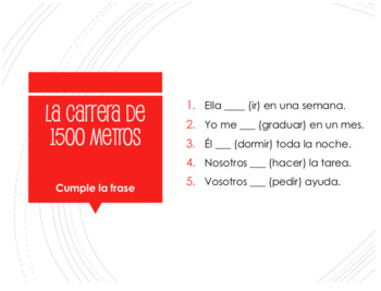 Spanish Conditional Perfect Decathlon