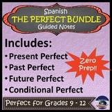 Spanish Perfect Tense BUNDLE - Guided Notes and Key