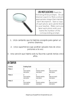 Spanish Conditional Perfect Paperless Challenges