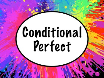 Spanish Conditional Perfect PowerPoint Slideshow