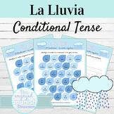 Spanish Conditional Tense La Lluvia Activities