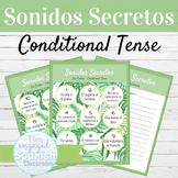 Spanish Conditional Tense Regular Verbs Sonidos Secretos S