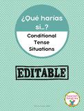 ¿Qué Harías Si...? Conditional Tense Situations