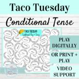 Spanish Conditional Tense Activity | Digital or Print Taco