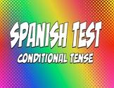 Spanish Conditional Tense Test