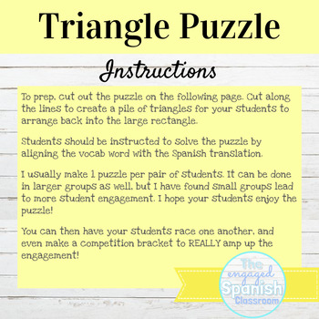 Spanish Conditional Tense Conjugation Puzzle