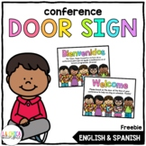 Spanish Conference Door Sign