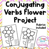 Spanish Conjugating Flower Verbs Activity for Google Drive