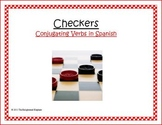 Spanish Conjugating Verbs Checkers Game