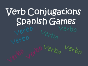 Spanish Conjugating Verbs Games
