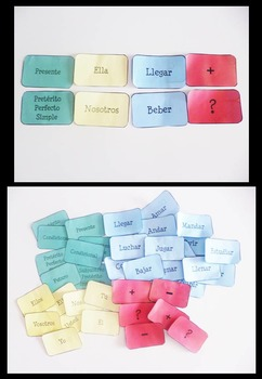 Spanish Sentence Creator: 32 Verbs, ALL TENSES