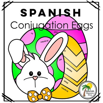 Spanish Easter Conjugation Eggs