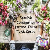 Spanish Conjugation Future Tense Task Cards