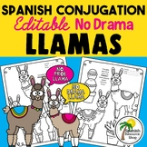 Spanish Conjugation No Prob-llama Llamas_Editable