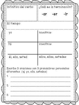 Spanish Conjugation Practice