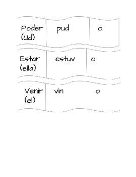 Spanish Conjugation Puzzles