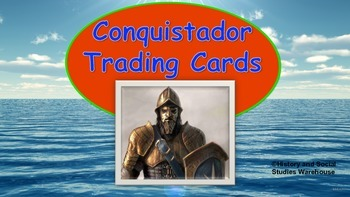 Spanish Conquistador Trading and Note Cards
