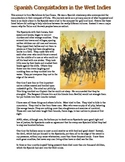 Spanish Conquistadors Primary Source Worksheet