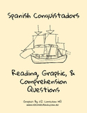 Spanish Conquistadors Reading Passage, Graphic, and Questions