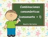 Spanish Consonant Blends: Combinaciones consonánticas (con