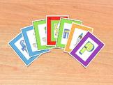 Spanish Consonants Card Game - Juego de cartas de consonan