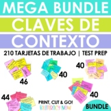 Spanish Context Clues Task Cards - Claves de contexto - Te