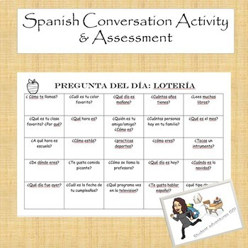 Spanish Conversation Activity & Assessment