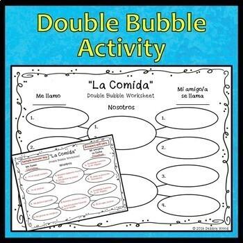 Spanish Speaking Activities Food (La Comida)