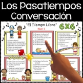 Los Pasatiempos - Conversation Activities