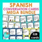 Spanish Conversation Cards Mega Bundle | Spanish Speaking