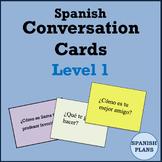 Spanish Conversation Cards - Oral Speaking Activity