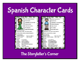 Spanish Character Cards