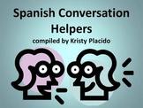 Spanish Conversation Helpers