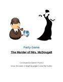 Spanish Conversation Murder Mystery Game