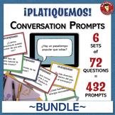 Spanish Conversation Starter Bundle