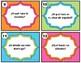 Spanish Conversation Starter Task Cards - Question Words - Interrogativos