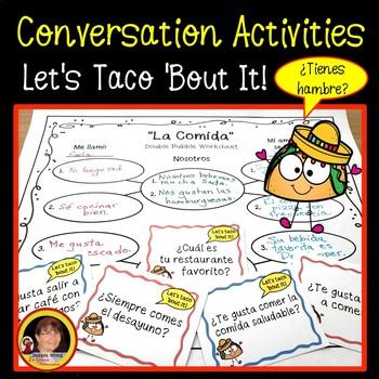 Spanish Food Conversation Activities