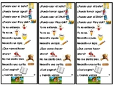 Spanish Conversation Stems/ Responses