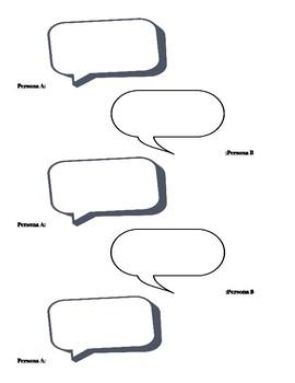 Spanish Conversation Template
