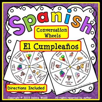 Spanish Conversation FREEBIE:  El Cumpleaños