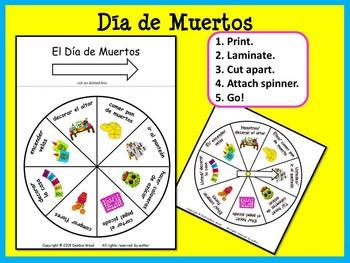 Spanish Día de los Muertos Conversation