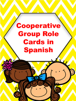 Spanish Cooperative Group Role Cards and Job Descriptions