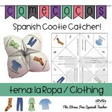 Spanish Fortune Teller: CLOTHING, LA ROPA, Cootie Catcher, Comecocos