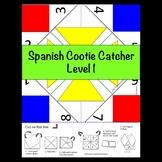 Spanish Cootie Catcher Level 1
