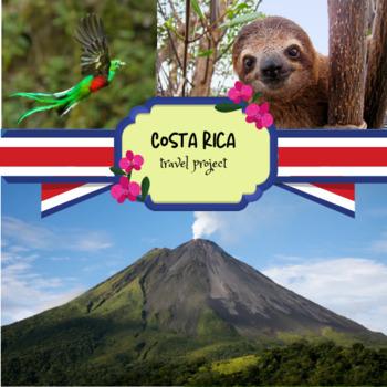 Spanish Costa Rica travel project