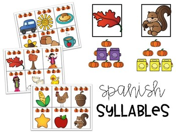 Spanish - Count the Syllables
