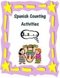Spanish Counting Activities