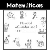 Spanish Counting Book:  Christmas - Navidad
